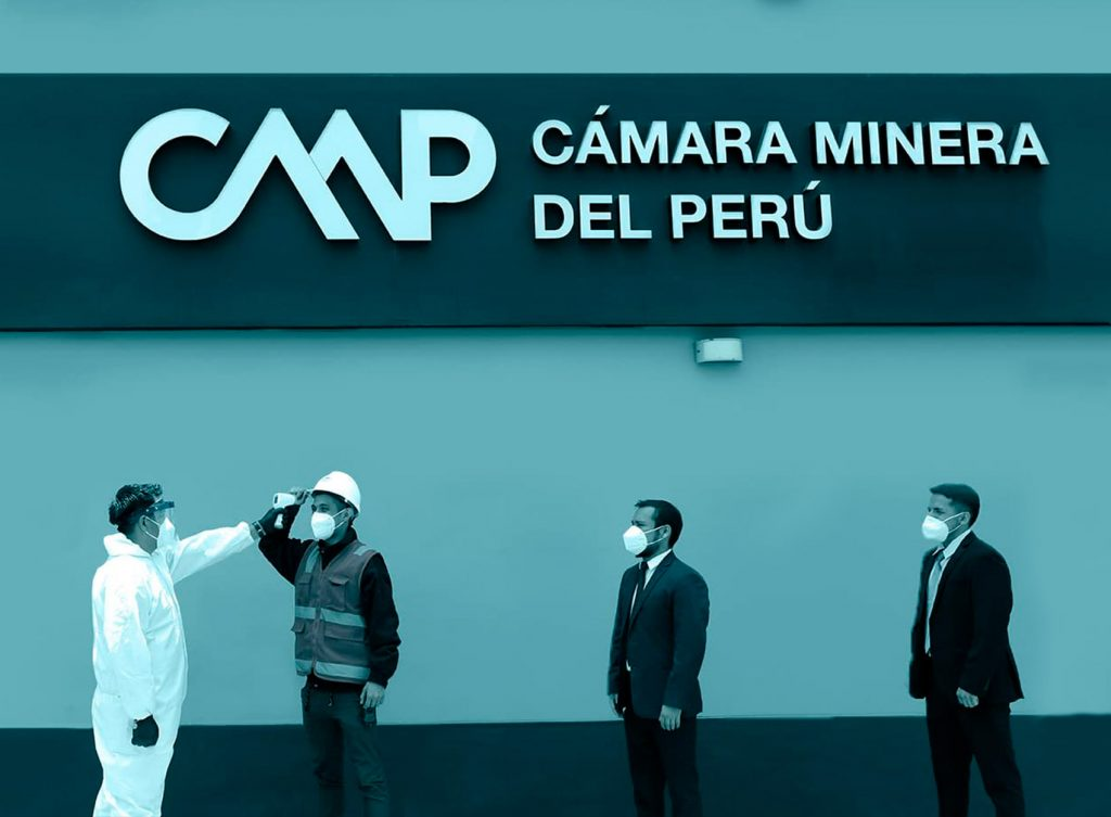 Covid-19 Safety Measures reinforced in the Chamber Of Mines Of Peru