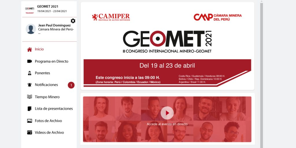 Professionals from 14 Countries in GEOMET 2021